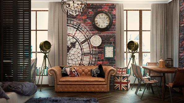 Decorador de interiores vintage